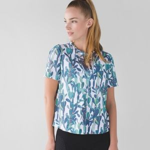 Lululemon Perfectly Perfed Tee Prickly Pear Top 10